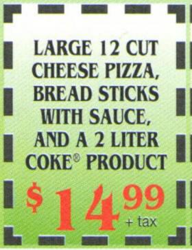 Printable coupons pizza guys